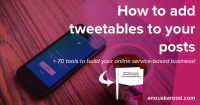 How to add tweetables to your posts