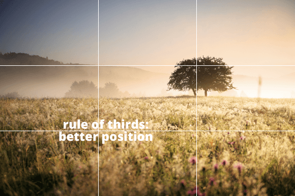 Text On Images: Rule of Thirds