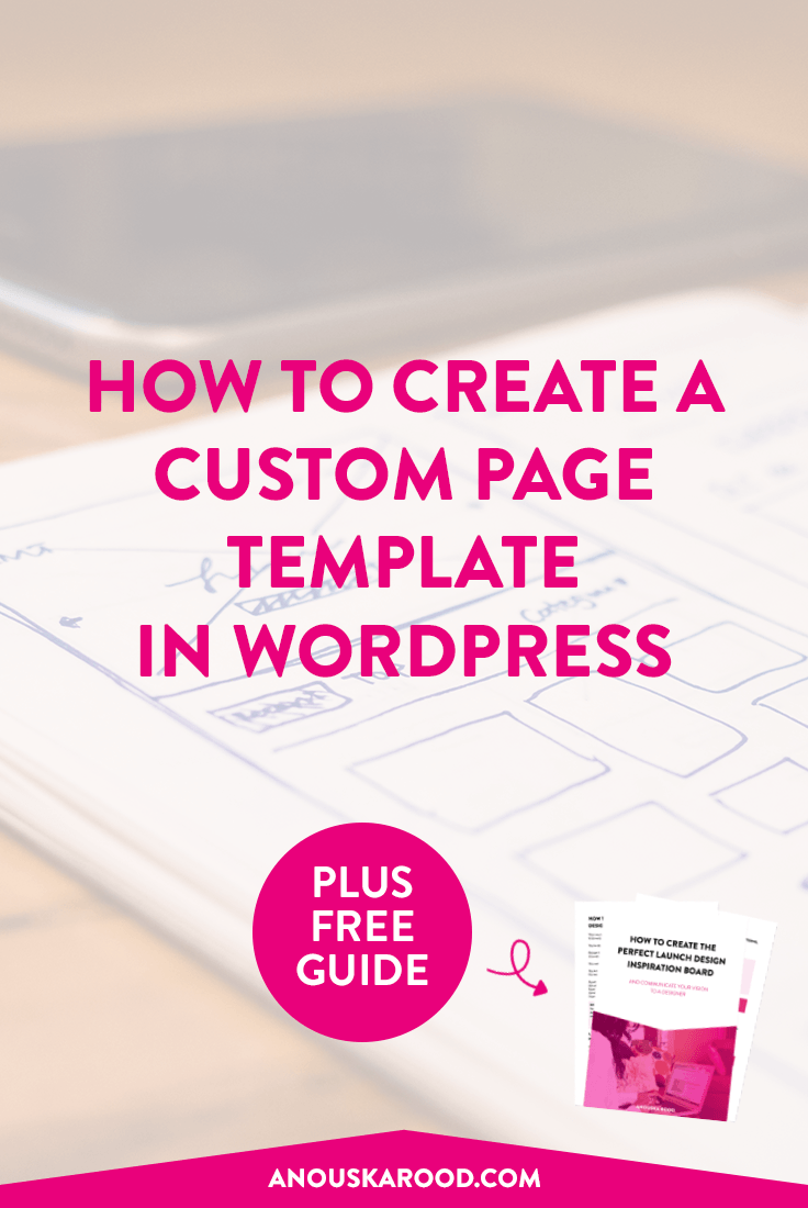 If you've been in business online for any amount of time, you'll likely have heard you need to remove the header and footer from landing pages and sales pages. Are you stuck on how to create a page without headers and footers? Click through to the post to learn how to create a very simple custom page template.