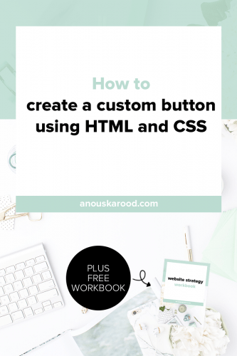 Buttons are a great way to make a CTA stand out. Click through to learn how to create a custom button with HTML & CSS so you can easily change text & re-use them.