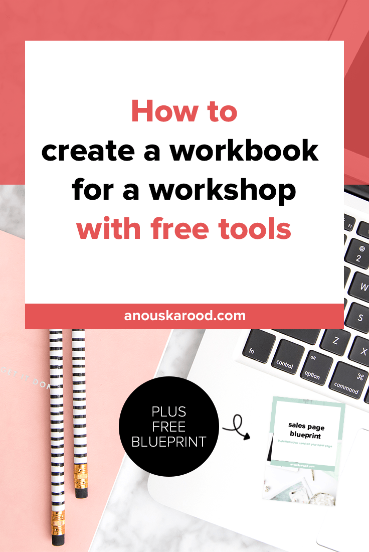 How to create a fillable PDF workbook for an online workshop using free tools