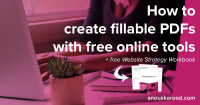 How to create fillable PDFs with free online tools