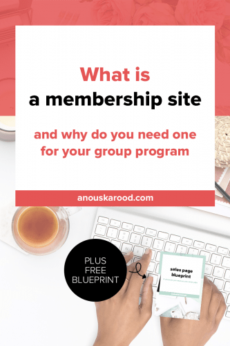 What is a membership site (and why you need one for your group program)