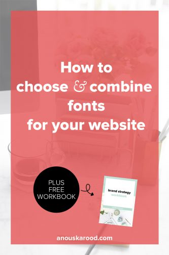 Click through to learn how to choose and combine fonts that work well, and work well together, for your website.