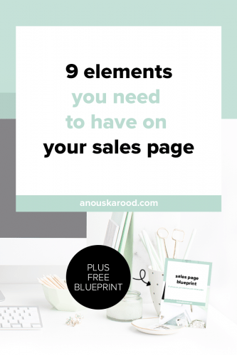 Learn what to include on your sales page and how to structure it so your ideal clients can't help but click that buy button!