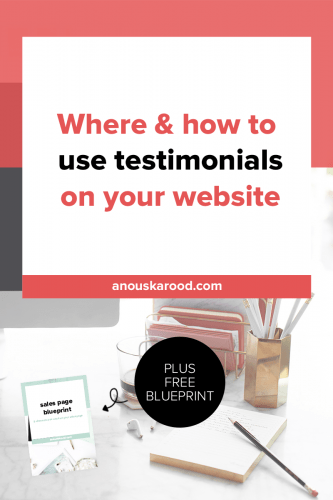 Should you have a separate testimonials page?