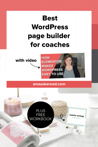 Best WordPress page builder for coaches | How Elementor makes WordPress easy to use