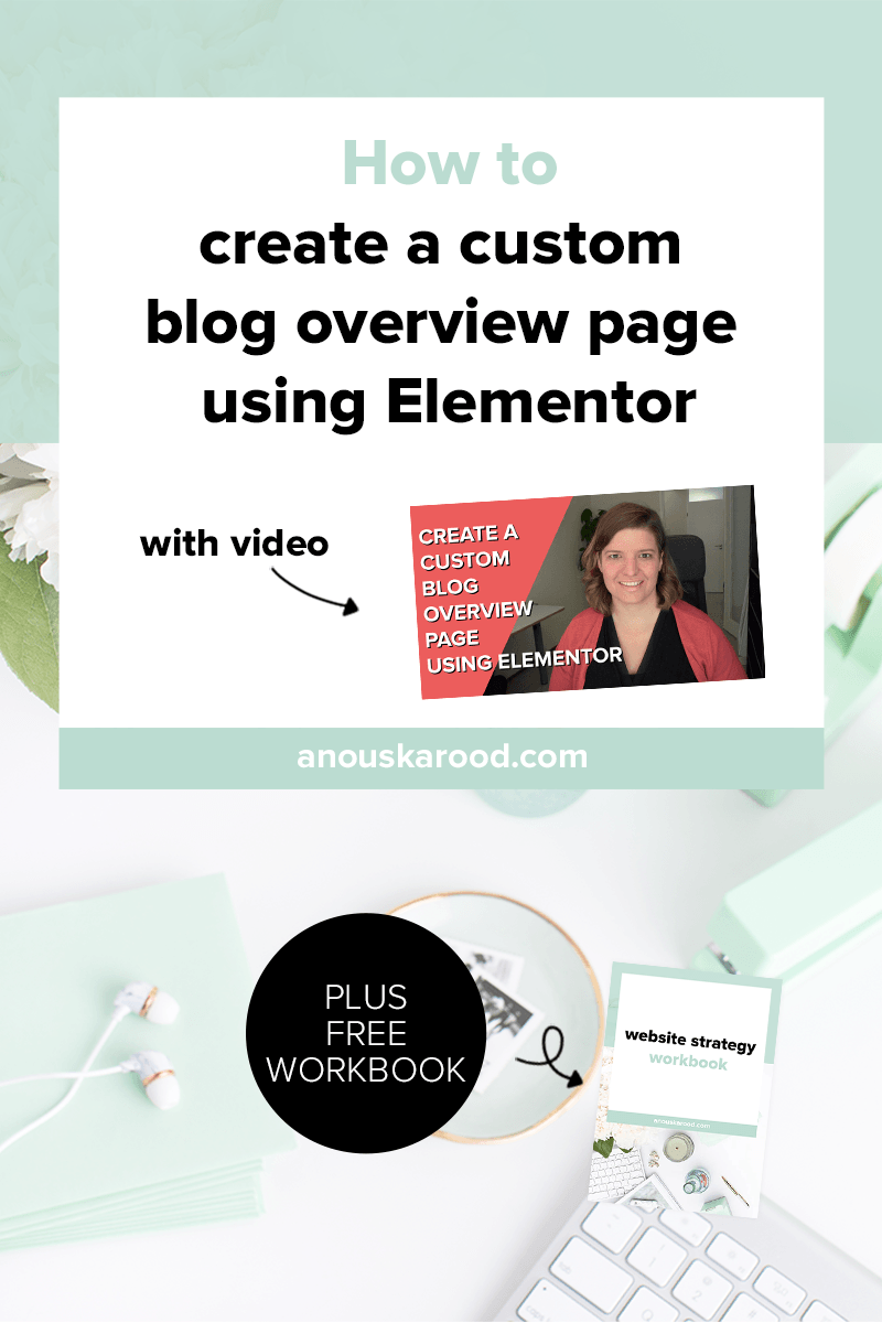 How to customize your blog overview page in WordPress (with Elementor)
